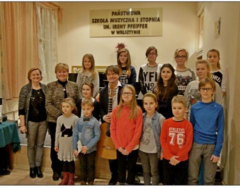 Uczniowie Szkoły Muzycznej Wolsztyn