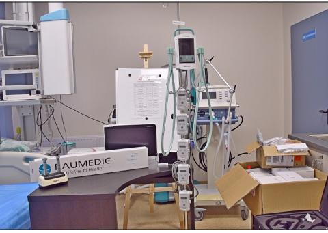 bronchofiberoskop, wideolaryngoskop, sprzęt do pomiaru ciśnienia śródczaszkowego Wolsztyn