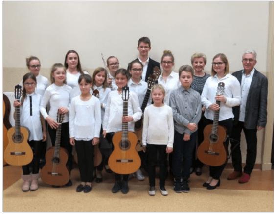Klasa Państwowej Szkoły Muzycznej Wolsztyn
