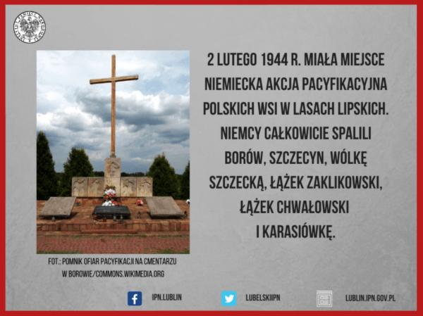 Niemiecka Akcja Pacyfikacyjna w Lasach Lipskich