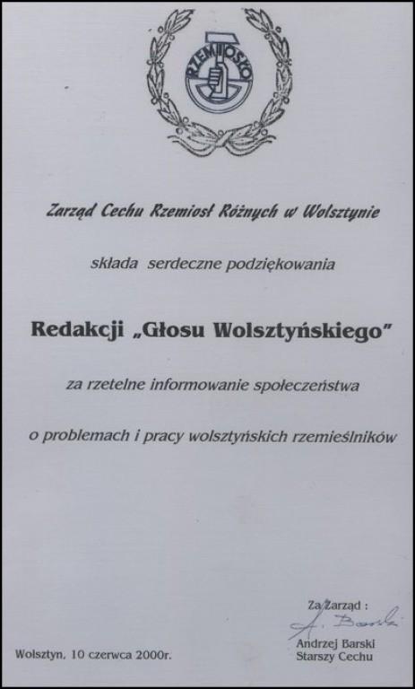 Zarzad-Cechu-Rzemiosl-Roznych-w-Wolsztynie