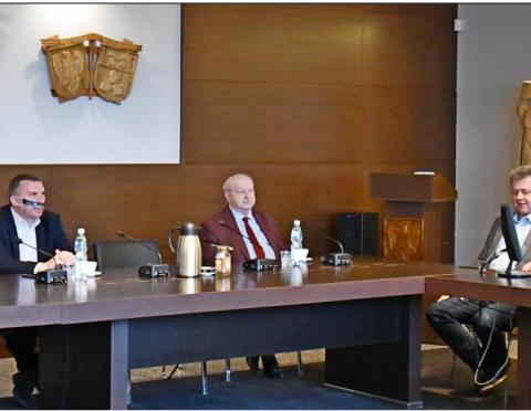 Jacek Skrobisz, Mariusz Zgainski, Andrzej Wilkonski